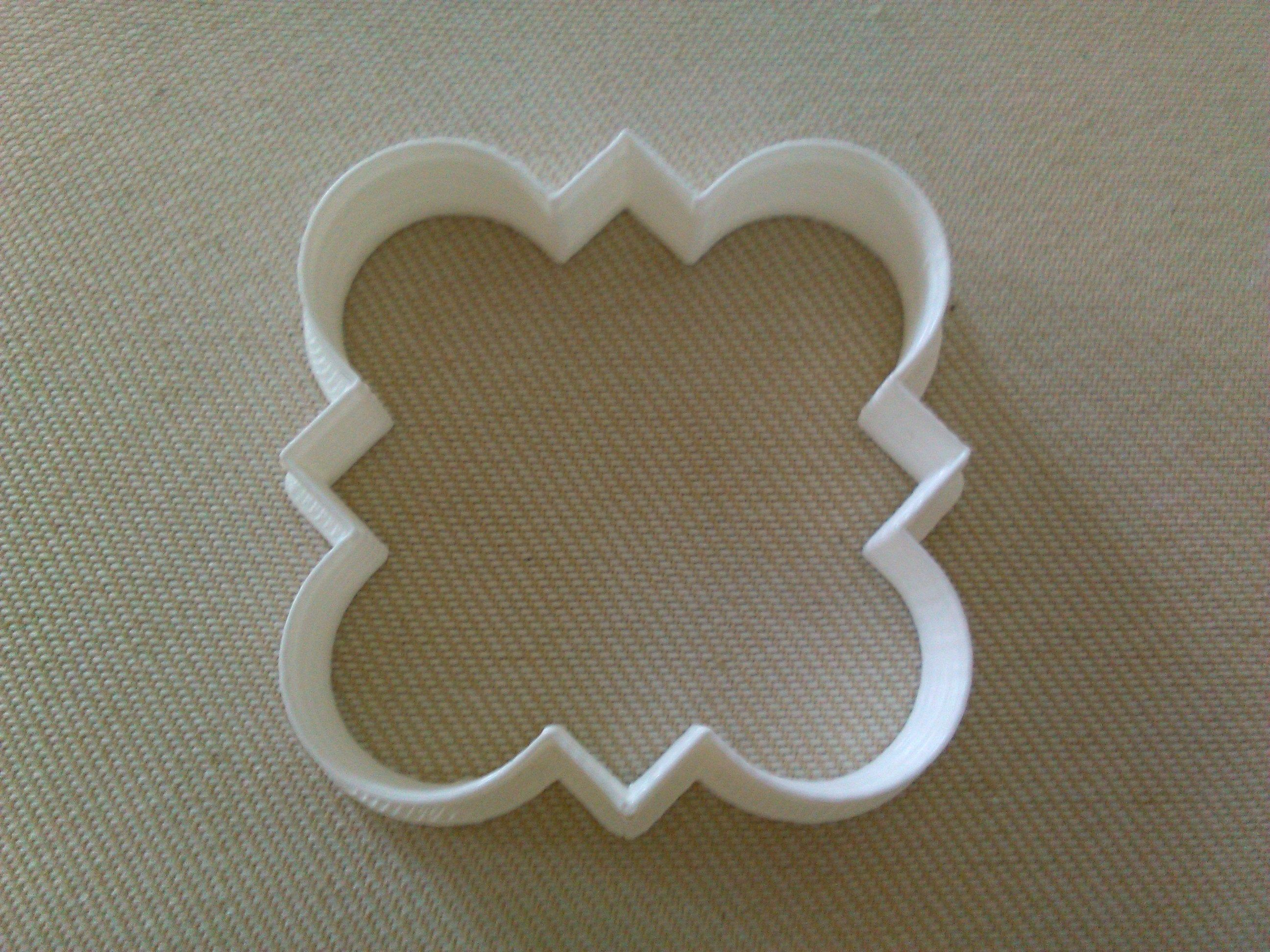 Star Cookie Cutter 3d Printed plastique