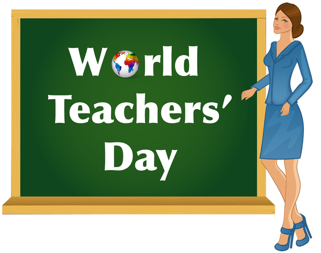 World Teachers Day Give Them The Recognition They Deserve World Teachers Teachers Day Teacher