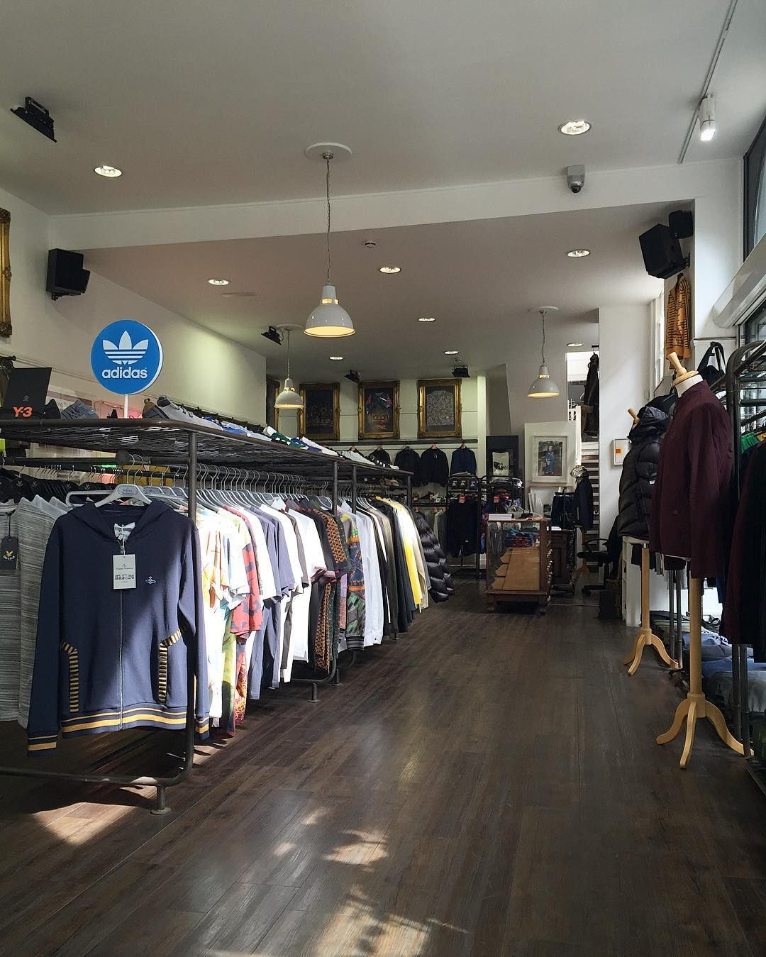 A very good Monday morning to you - we are open until 5.30pm today so swing by and see what we have to offer. Brand new collections from Moncler Westwood Y-3 adidas Originals Pretty Green Lyle & Scott and Fred Perry amongst others alongside some cracking sale bargains from our summer sale.  #newarrivals #AW16 #sale #summersale #philipbrownemenswear