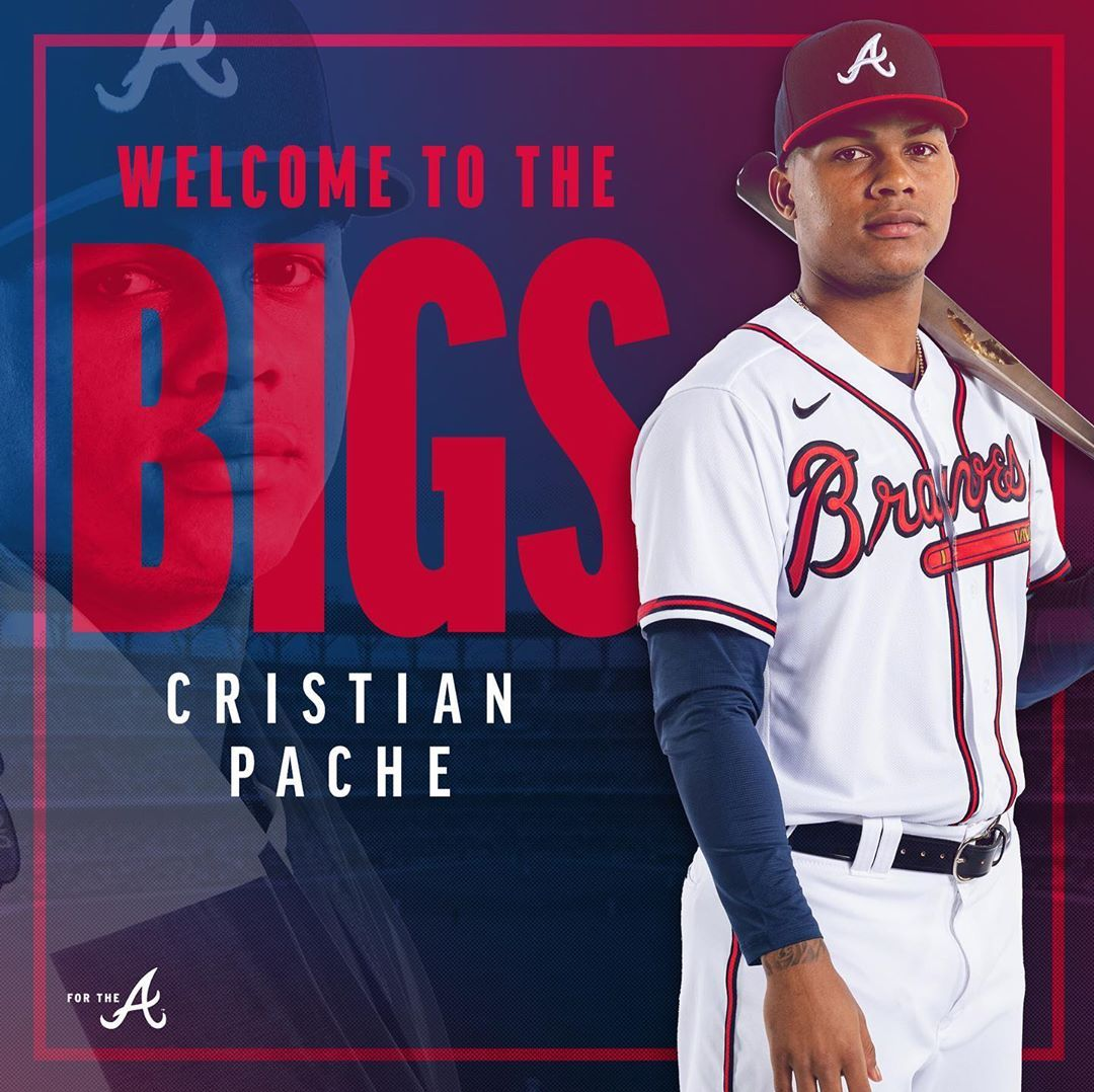 Atlanta Braves It S Your Time To Shine Cristianpache15 Welcome To The Show Forthea In 2020 Atlanta Braves Braves Atlanta