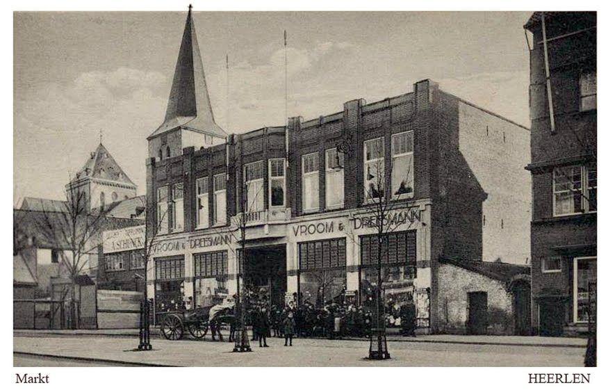Markt Heerlen. tussen 1929/32. Heerlen.