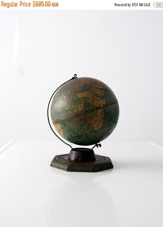 Sale 1930s jein world globe 8 inch tin globe by 86home on etsy sale 1930s jein world globe 8 inch tin globe by 86home on etsy gumiabroncs Gallery