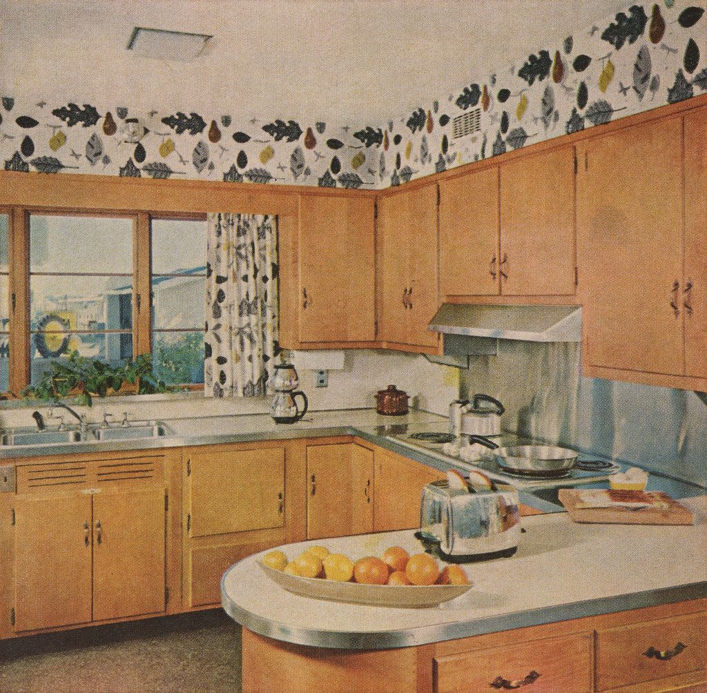 Moderno 1950 S Cocinas Ideas Fotos - Ideas de Decoración de Cocina ...