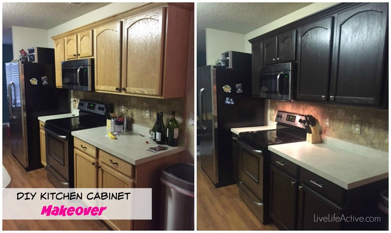 Diy Painting Kitchen Cabinets Before And After Pics Diy Kitchen Cabinets Painting Upper Kitchen Cabinets Diy Kitchen Cabinets Makeover