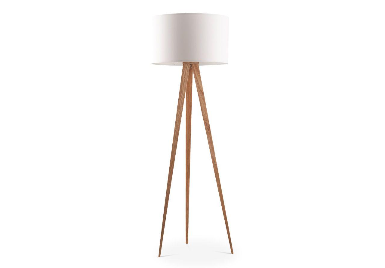 lampen macau tripod stehlampe holz wei avandeo m bel online shop rund 200 euro. Black Bedroom Furniture Sets. Home Design Ideas