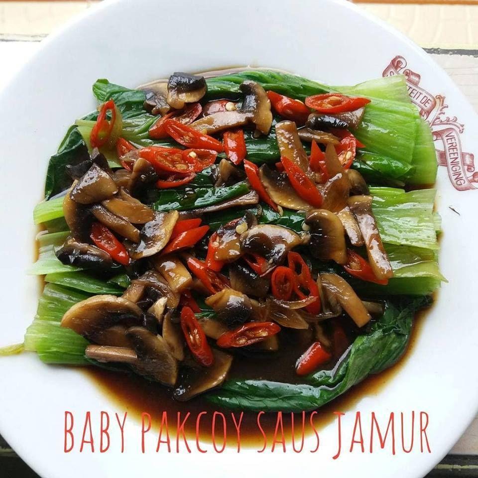 Sayur Baby Kailan Makanan Masakan Sayuran