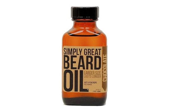 Christmas Gift for Him - Beard Oil in manly scents such as campfire