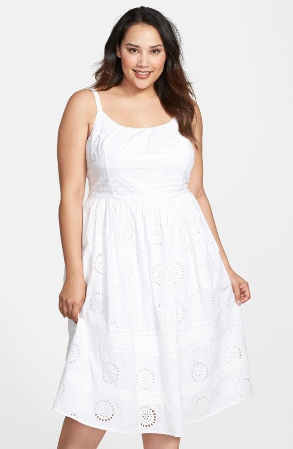 13 Plus Size Little White Dresses For Summer Curvy Summer And