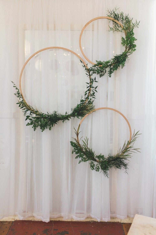 Letchworth Wedding - Rustic Scandi Greenery & Copper