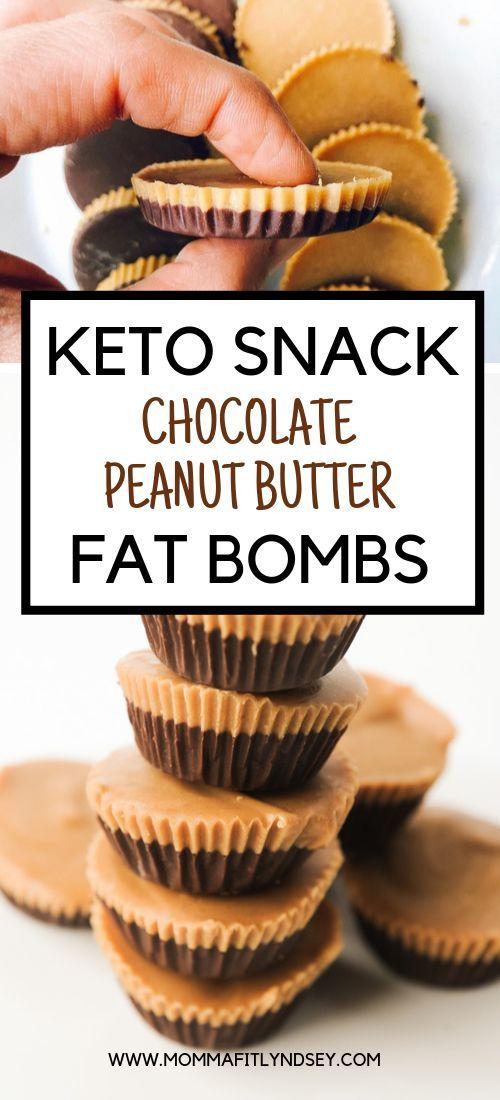 Peanut Butter Cup Fat Bomb Recipe + VIDEO - Momma Fit Lyndsey