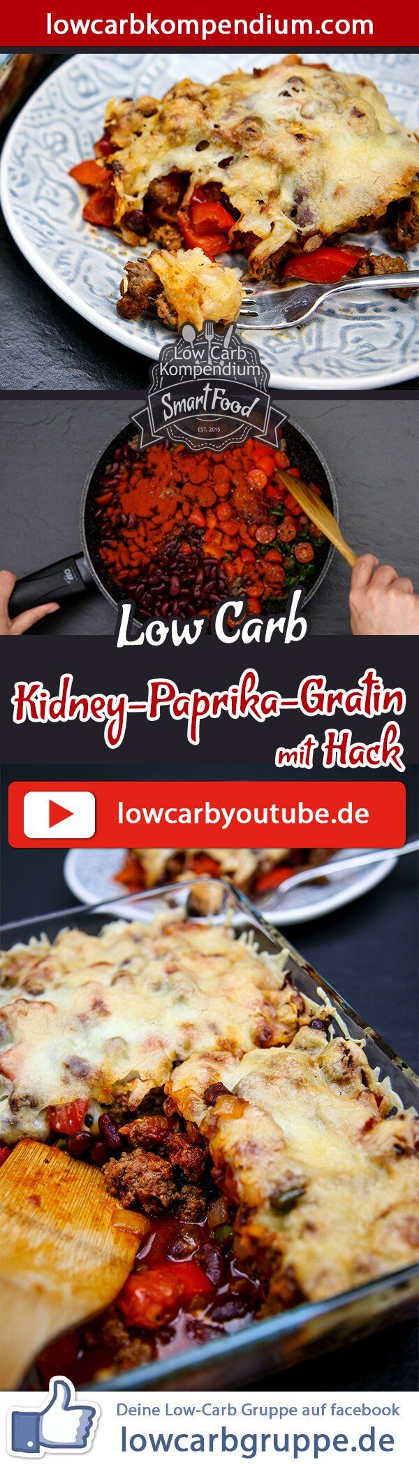 Photo of Kidney and paprika gratin with a hack 😍 Low-carb casserole simple and tasty
