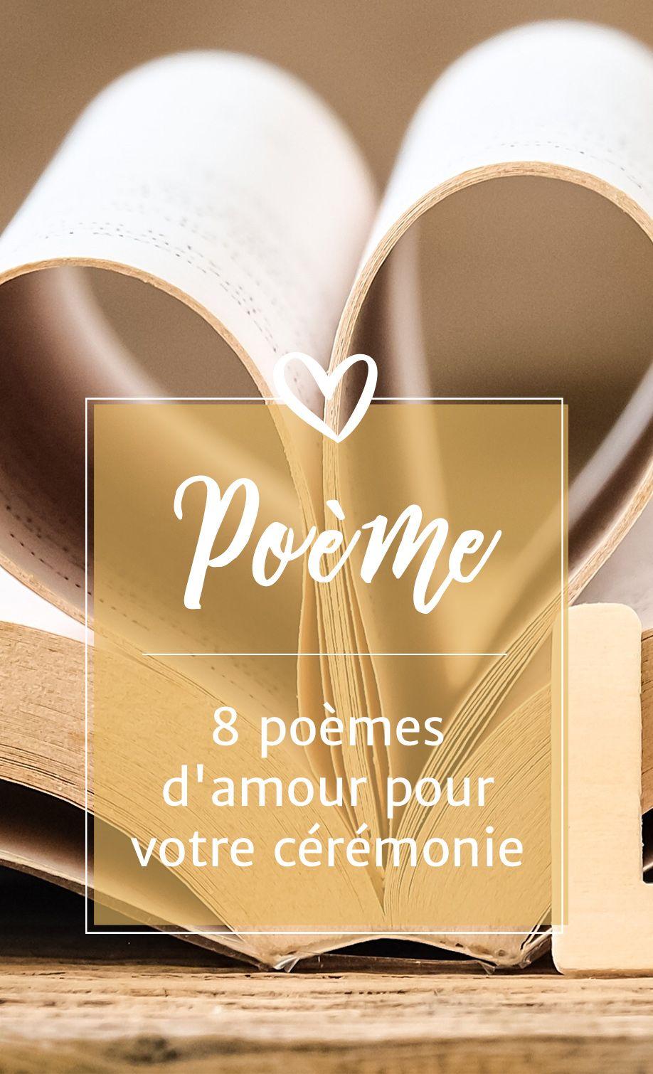 8 Poèmes Damour Pour Votre Cérémonie Animationscadeaux