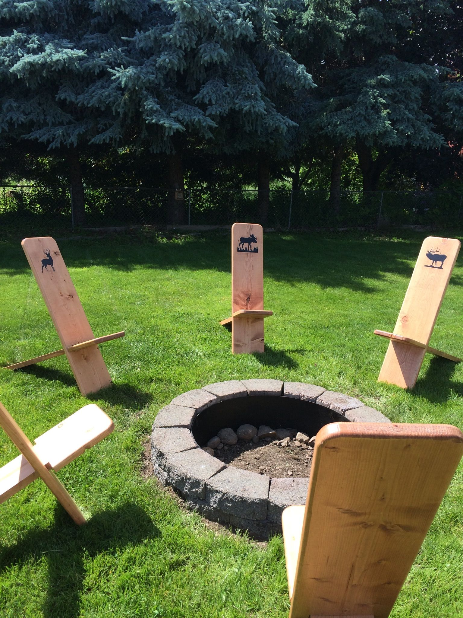 Fire Pit Viking Chairs They Break Down Easily For Storage And Are Surprisingly Comfortable Outdoor Fireplace Designs Viking Decor Fire Pit Bbq