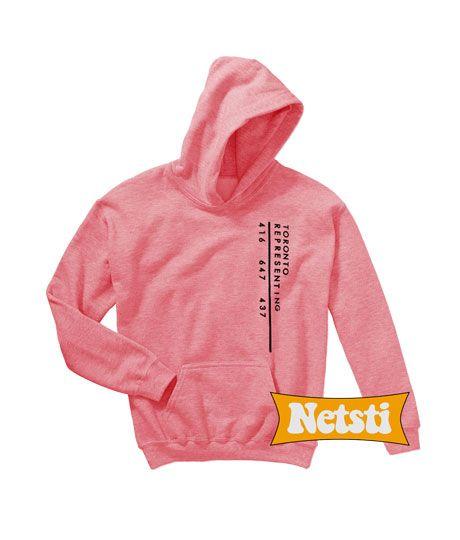 229129dc Toronto representing Chic Fashion Hooded Sweatshirt Unisex | Hoodie ...