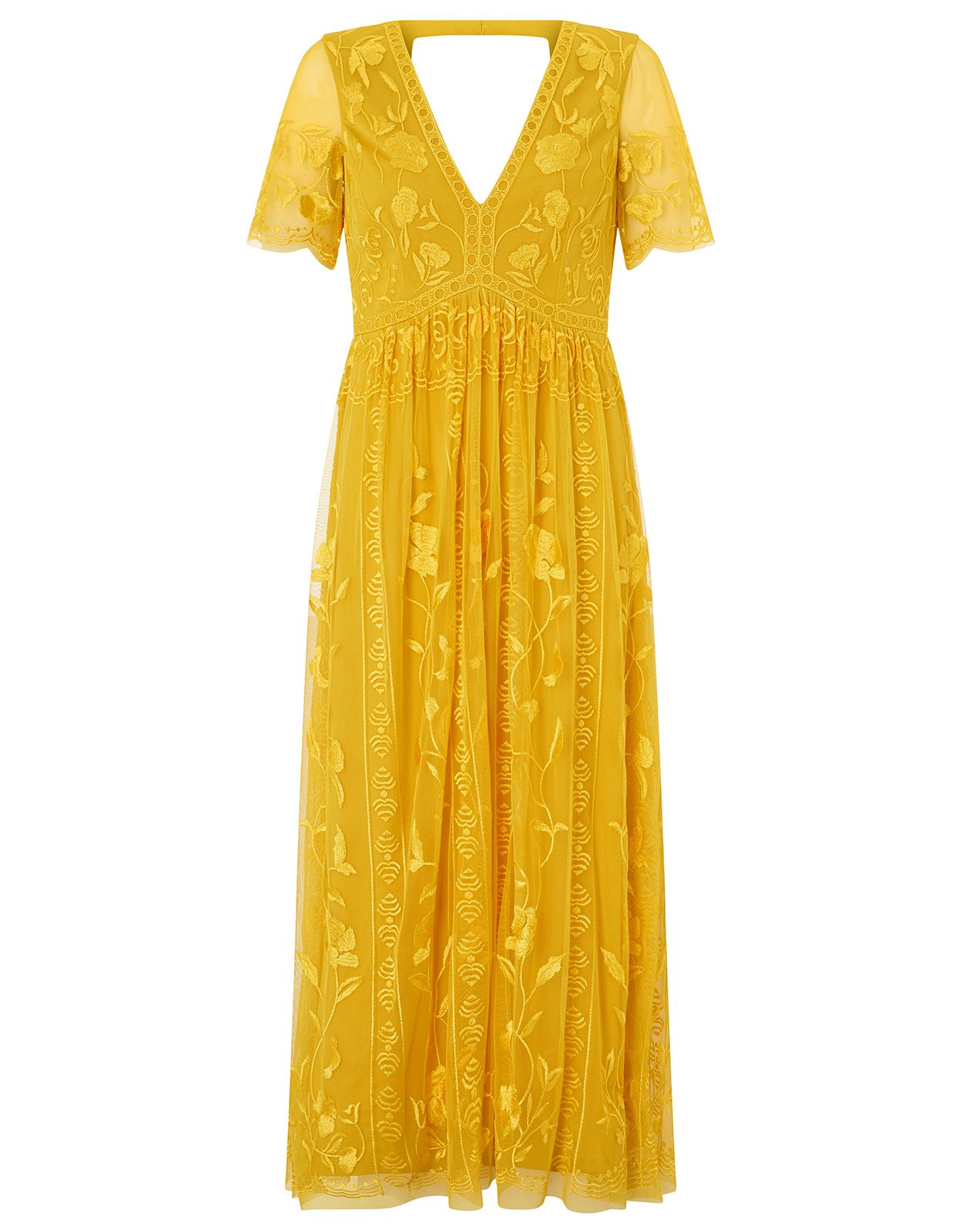 32 Beautiful Summer Wedding Guest Dresses For 2020 Embroidered Midi Dress Yellow Midi Dress Wedding Guest Dress Summer,Nordstrom Wedding Guest Dresses Sale
