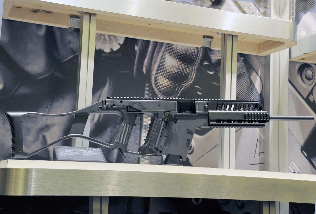 KRISS Multicaliber Carbine, 9mm, .40, .45, .22LR