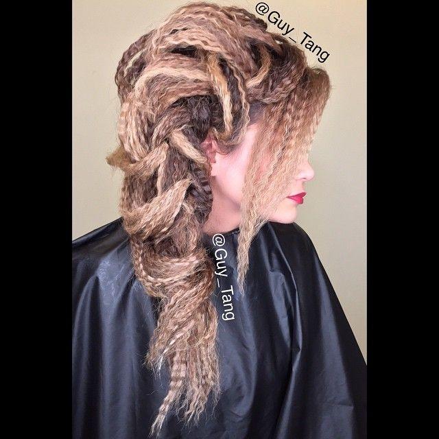 textured boho balayage braid