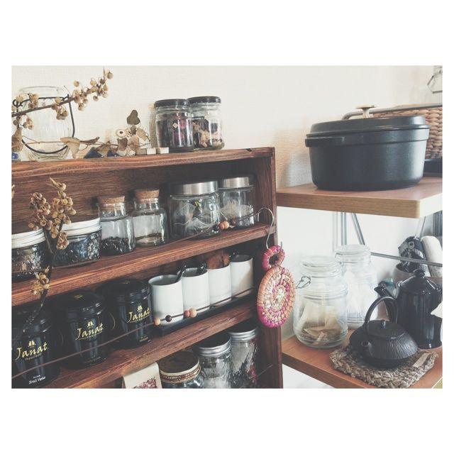 キッチン収納/収納/Kitchenのインテリア実例 - 2014-06-05 03:58:32 | RoomClip(ルームクリップ)