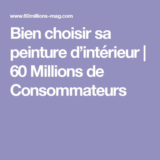 Bien Choisir Sa Peinture Du0027intérieur | 60 Millions De Consommateurs