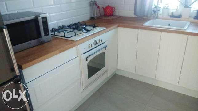Fronty Kuchnia Ikea Faktum Stat Biale Styl Angielski Ikea Kitchen Cabinets Decor