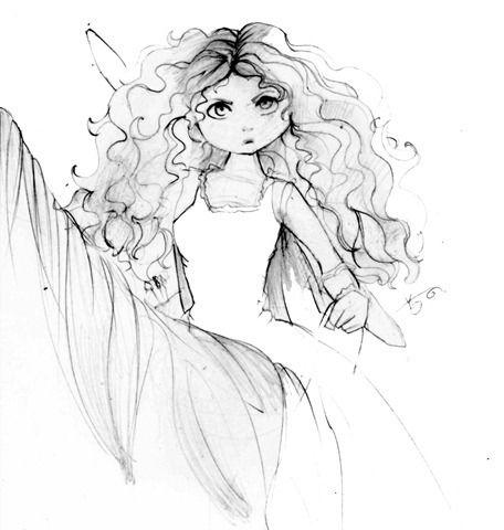 Valente Brave Coloring Pages Colorir Desenhos Filmes De
