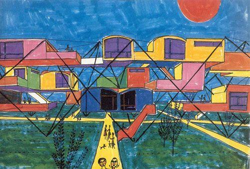 Yona Friedman, l'Architecture Mobile, 1956
