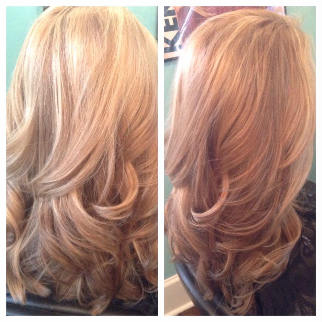 Beautiful Vanilla Blonde Created By Jennifer Oguinn At Lusso Hair