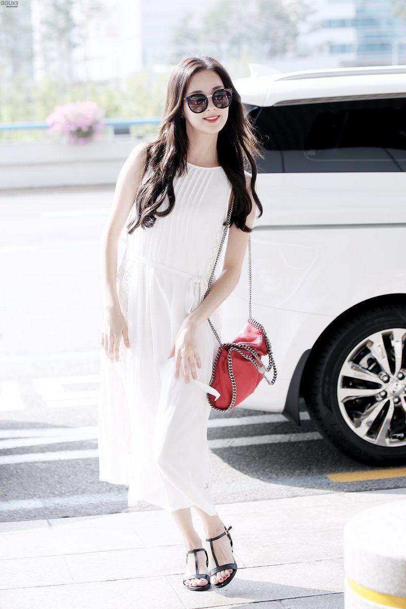 160629 Seohyun- Airport | Snsd airport fashion, Kpop ...