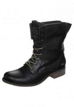 Mustang - Bottines à lacets - schwarz