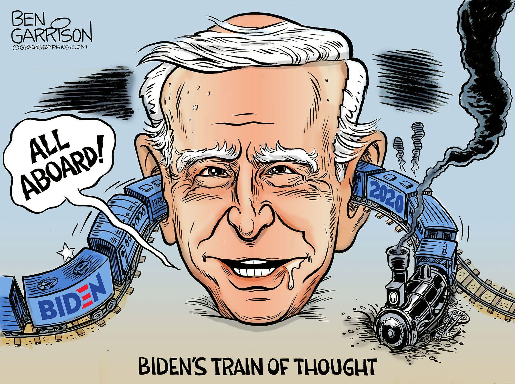 10 Biden cartoons ideas | political cartoons, joe biden, cartoon