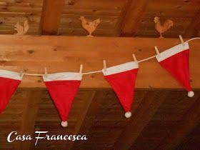 Ciao a tutte!   Manca meno di un mese a Natale e qui già da una settimana abbiamo addobbato casa.   Oggi ho preparato la mansarda con que...