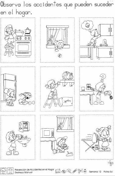8 Ideas De Actividades Sobre El Hogar Actividades Actividades Para Preescolar Actividades De Rimas