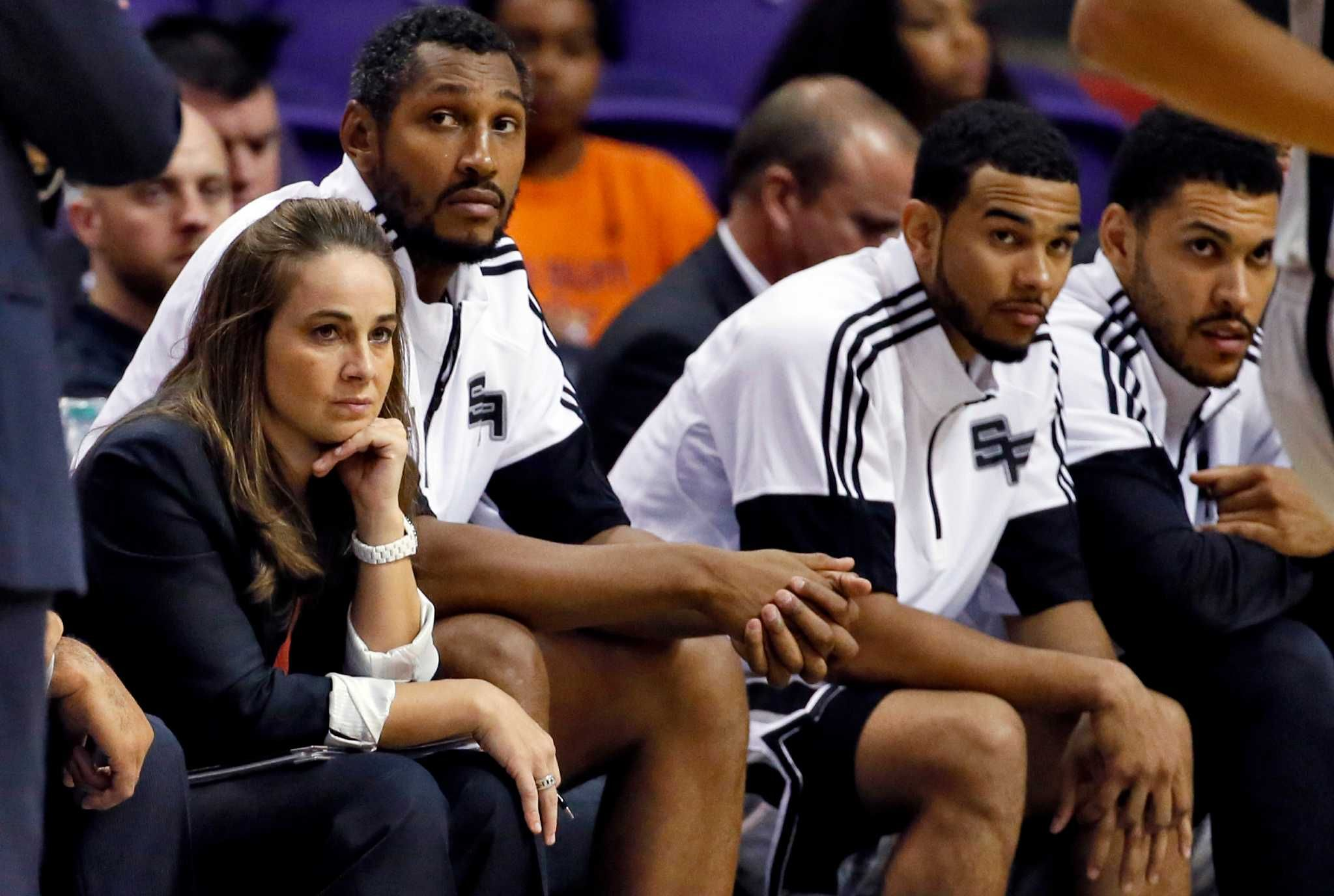 ESPN has named Spurs assistant coach Becky Hammon the 2014 Impact 25 Woman of the Year.