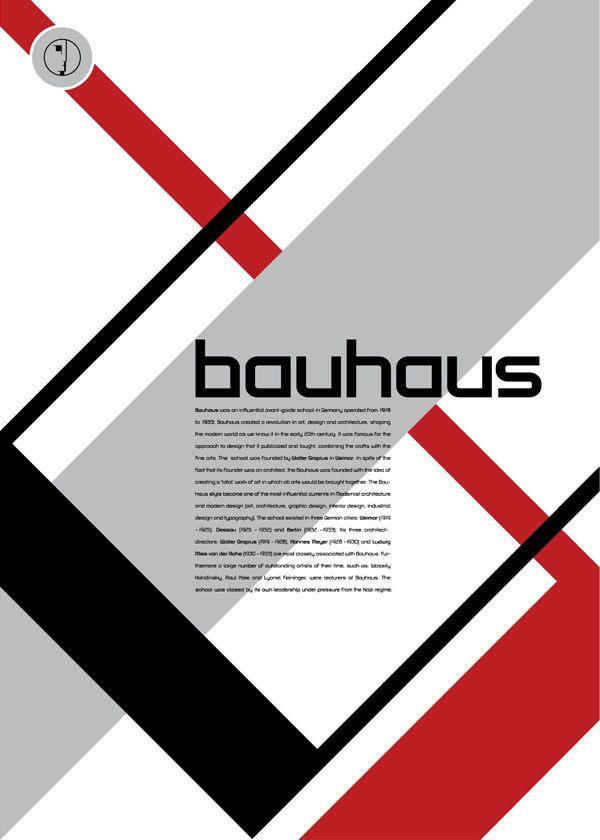 True Type of the Bauhaus