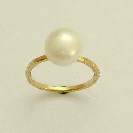 pearl ring #ring #pearl