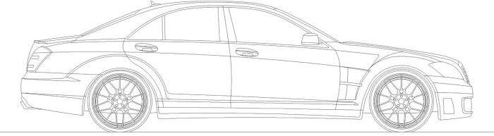 Mercedes S600 Coloring Page | Chucks converse, Chuck ...