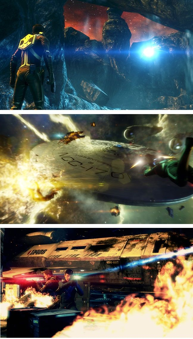 star trek  the video game with images and bonus  release