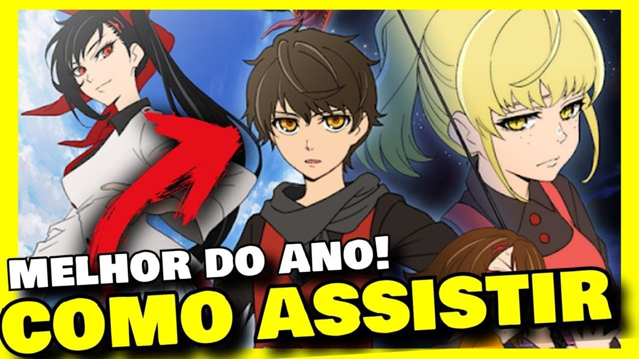 ASSISTI Tower of God Ep 1 SINOPSE ANIME Tower of God
