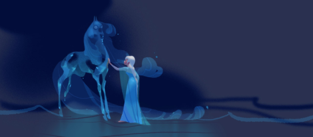 The Nokk Frozen Ii Disney Developpement Disney Concept Art Art Blog Concept Art