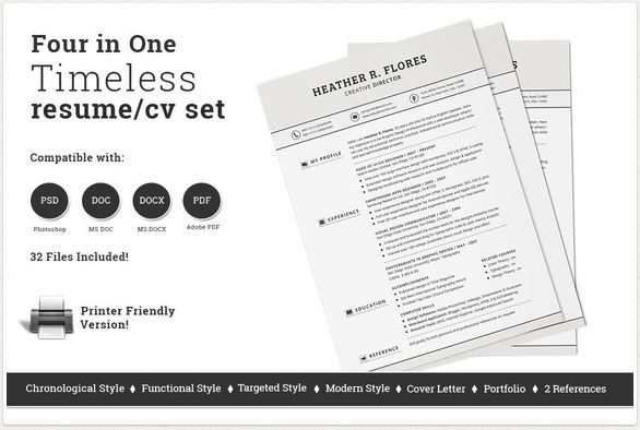 Four page resume .docx   Human Resources   Pinterest   Resume skills ...