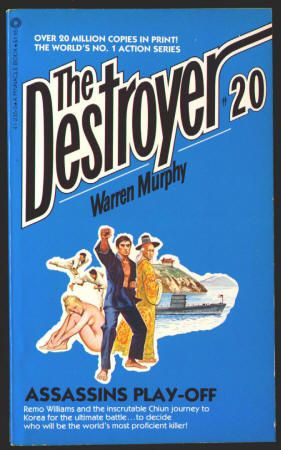 THE DESTROYER by Richard Sapir and Warren Murphy. #20 ASSASSINS PLAY-OFF: Paperback, As New-, (Published 1975) October 1980, 5th Printing, Pinnacle Books, $6