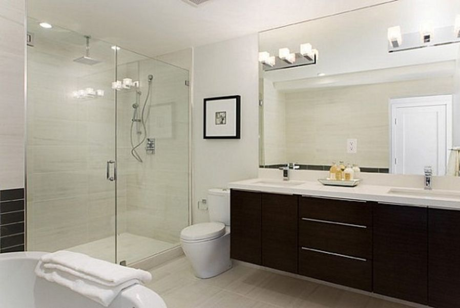 Contemporary European Bathrooms change the look of your bathroom with shower lights | light