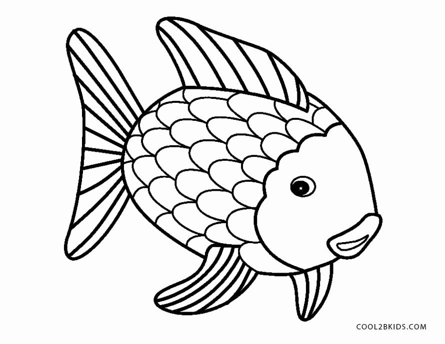 Coloring Page Of Fish Lovely Free Printable Fish Coloring Pages For Kids Rainbow Fish Coloring Page Fish Coloring Page Animal Coloring Pages