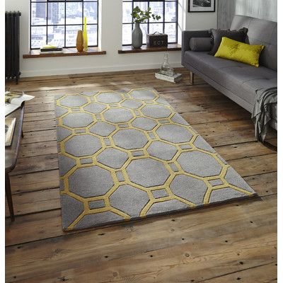 Found it at Wayfair.co.uk - Hand-Tufted Grey Area Rug