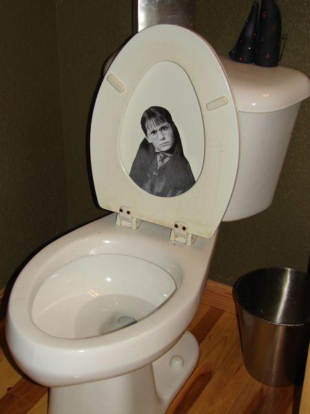 toilet moan
