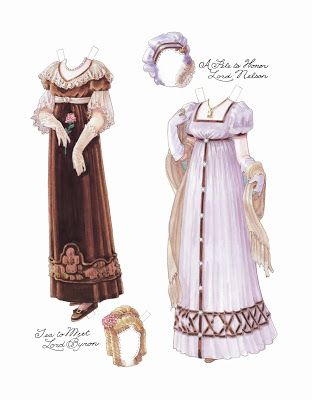 inkspired musings: The Regency Era Fashions, Authors and Art