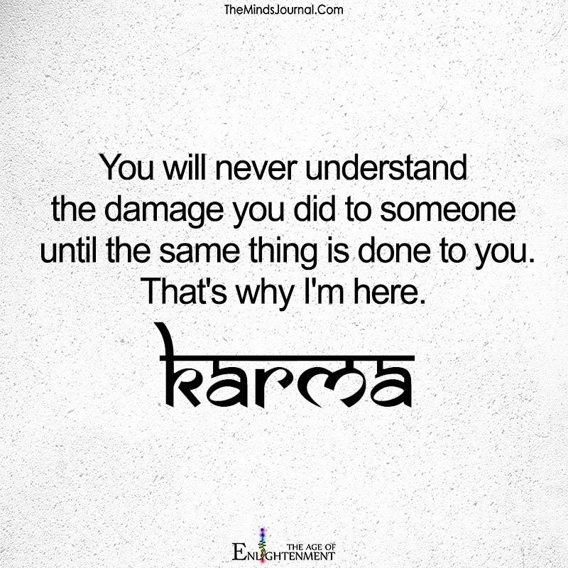 You Will Never Understand You Did To Someone Spiritual Seeker