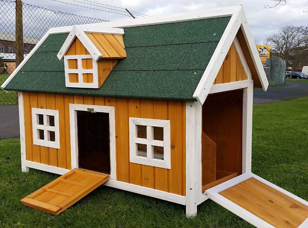 H hnerstall h hnerhaus cocoon h hnerstall h hnerhaus f r 3 for Plastic duck house