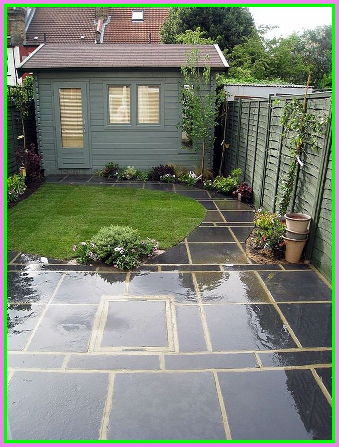 96 reference of slate patio ideas uk in 2020 | Small ...