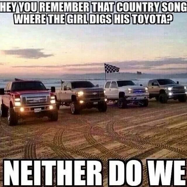 Dodges All The Way Ford Jokes Jacked Up Trucks Truck Memes
